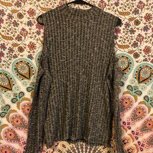 American Eagle Cold Shoulder Sweater